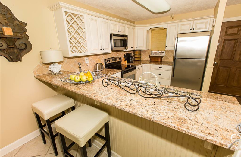 Kitchen at Holiday Isle Properties - Destin on the Gulf 505.