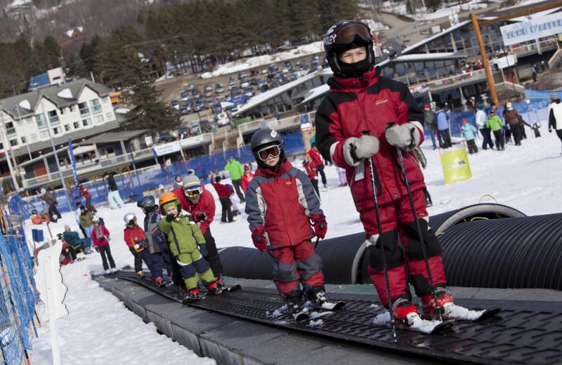 Ski lift at Stoneham.