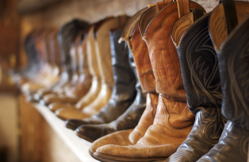 Boots at Rawah Guest Ranch.
