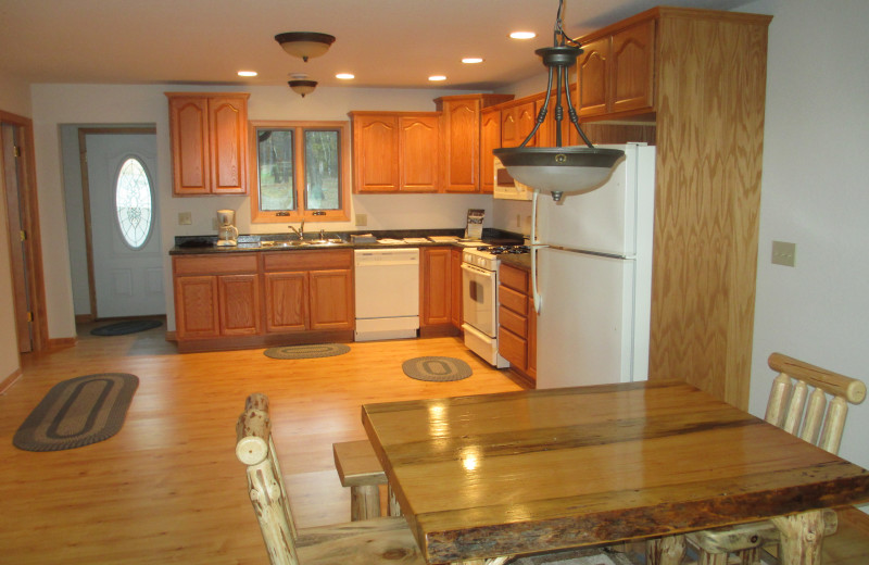 Rental kitchen at Redman Rental Group.