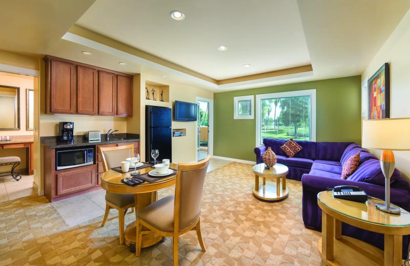 Guest room at Orange Tree Golf Resort.