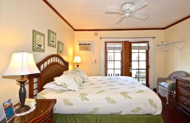 Guest room at Garden House Bed & Breakfast.