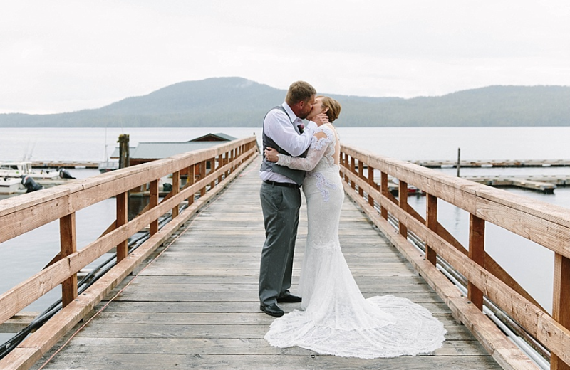 Wedding at Salmon Falls Resort