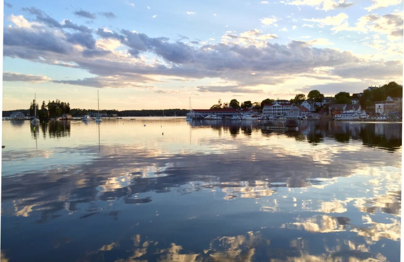 Harbor near Boothbay Harbor Country Club.