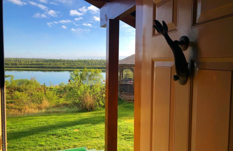 View from Alaska Rainbow Lodge.