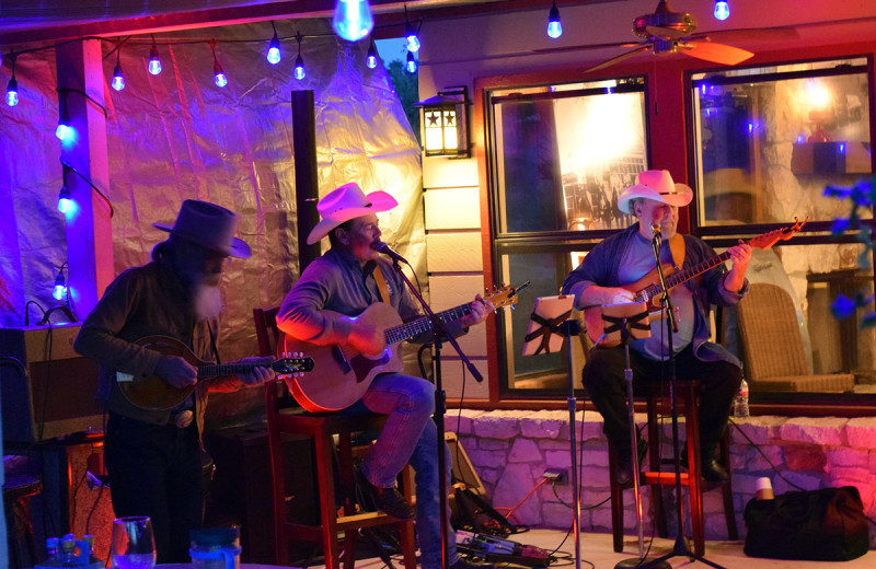 Musicians at Flying L Hill Country Resort & Conference Center.