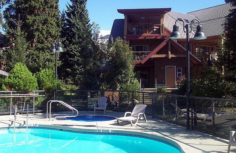 Outdoor pool at Whistler Premier Resort.