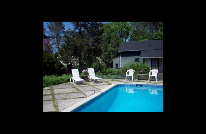 Outdoor pool at Temple Hill Bed & Breakfast.