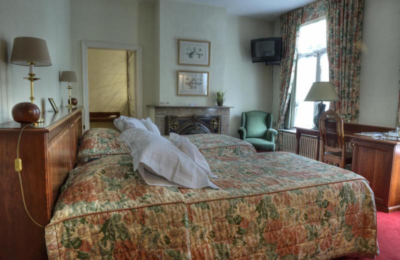 Guest room at Ter Driezen.