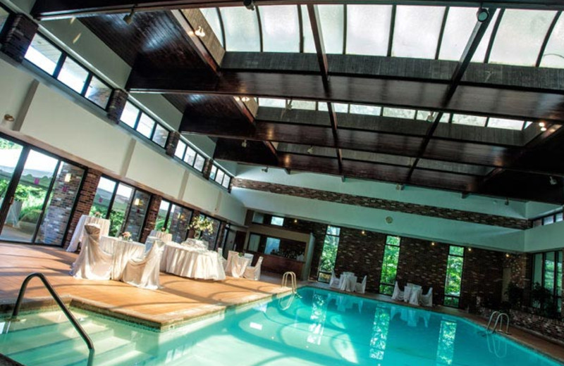 Indoor Pool at Nichols Village Hotel and Spa