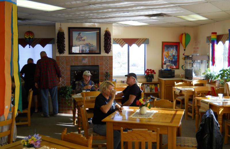 Dinning room at American RV Park.
