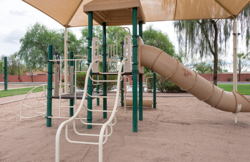 Playground at Westgate Painted Mountain Resort.