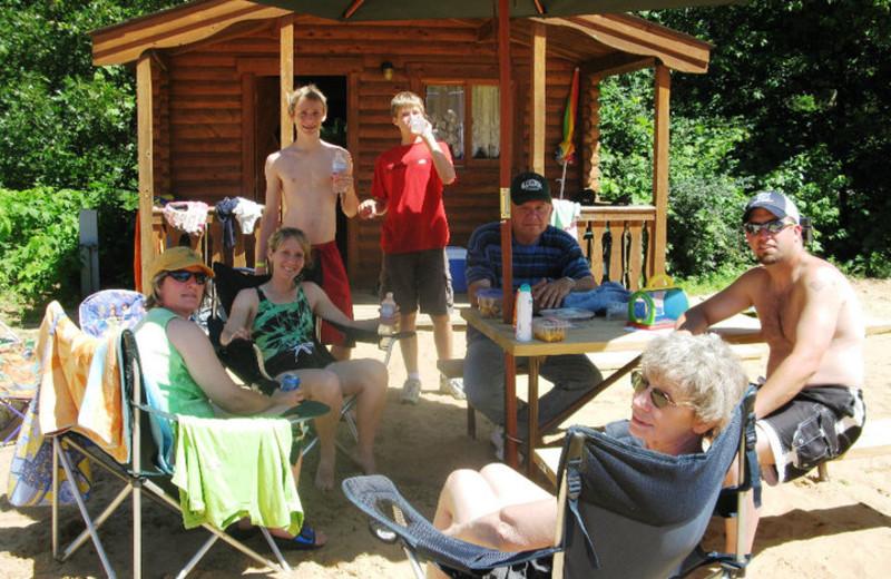 Camping Rentals at Smokey Hollow Campground