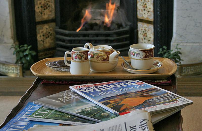 Tea at Blenheim Lodge.
