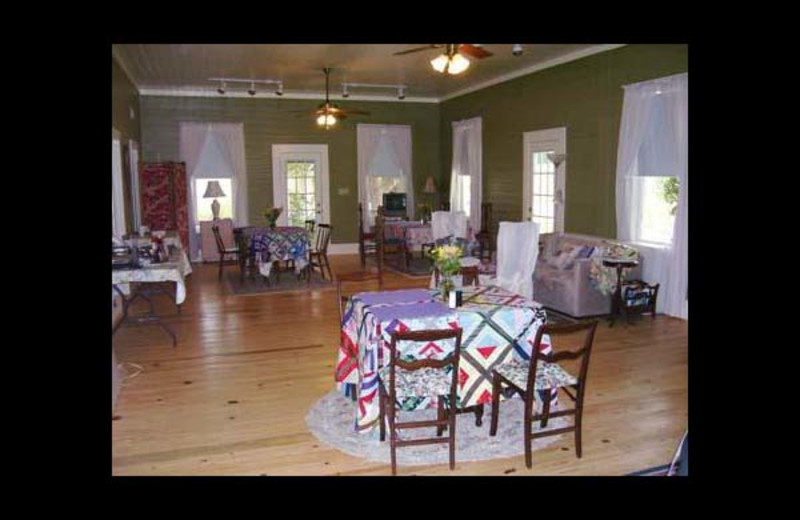 Dining at Briarfield Bed & Breakfast.
