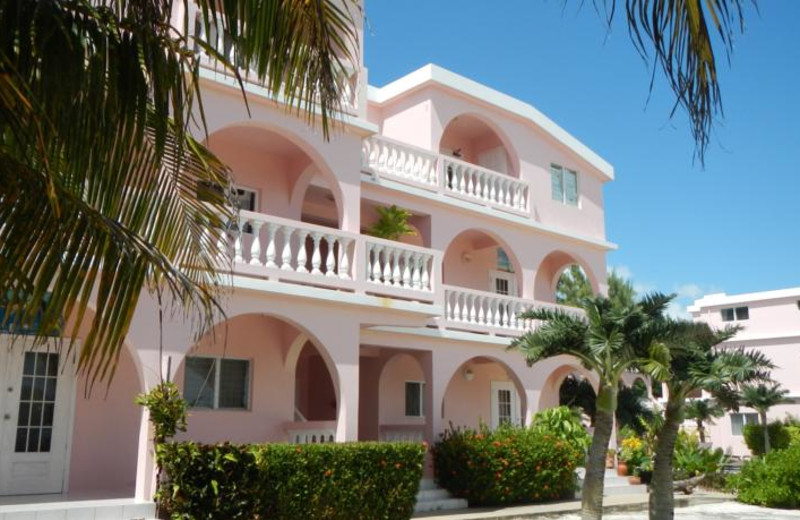 Exterior view of Caribe Island Resort.