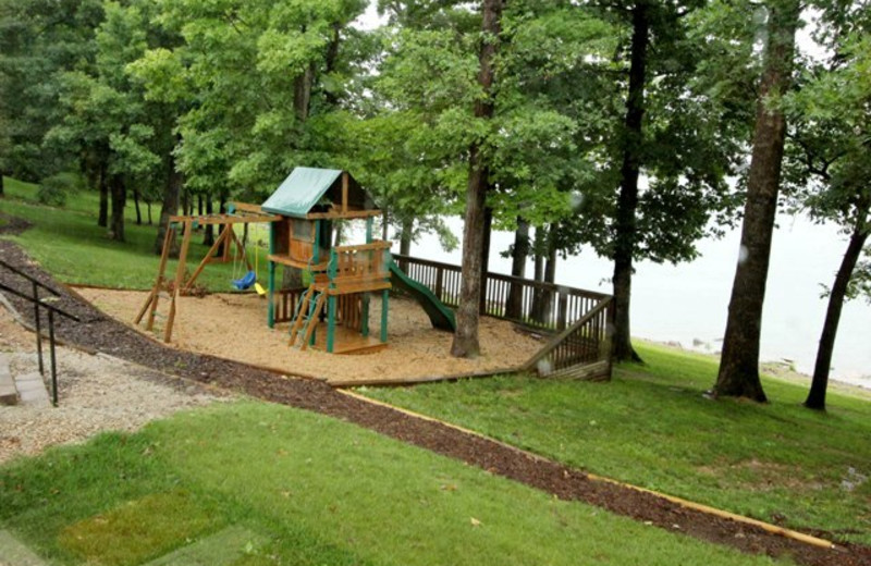 Kid's playground at Vickery Resort On Table Rock Lake.