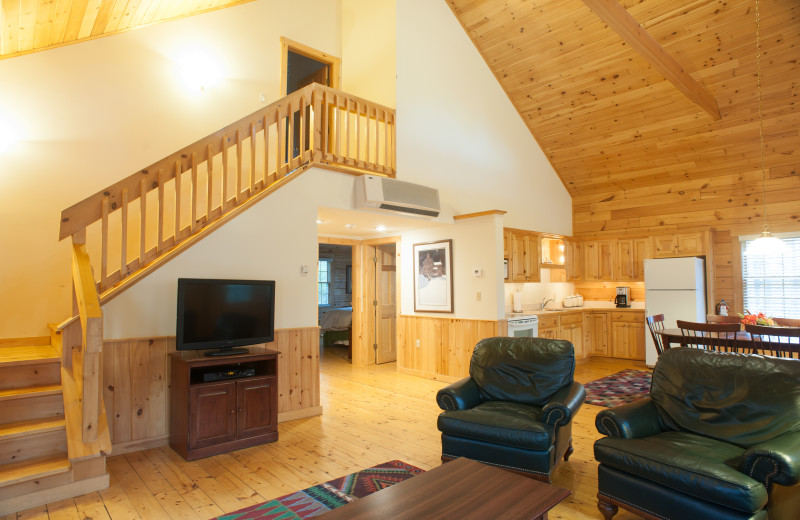 Cabin Interior at Point Lookout Resort and Conference Center