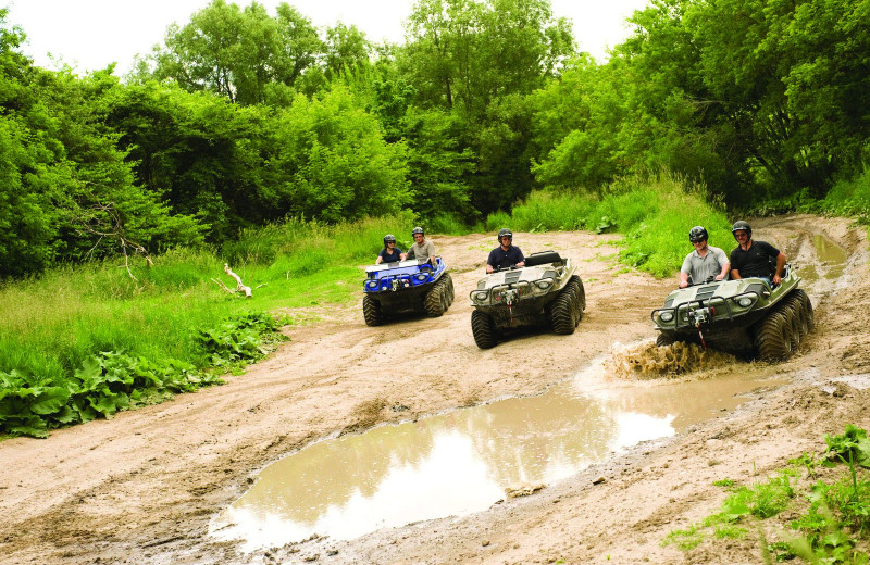 ATVs at YD Guest Ranch.