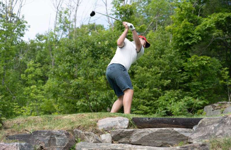Golf at Taboo Muskoka.