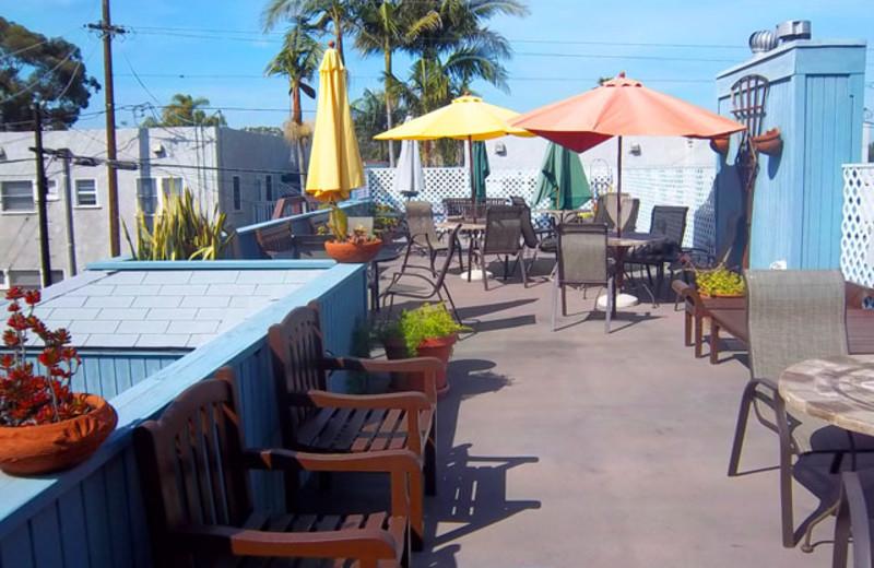 Patio at Park Inn-Balboa.