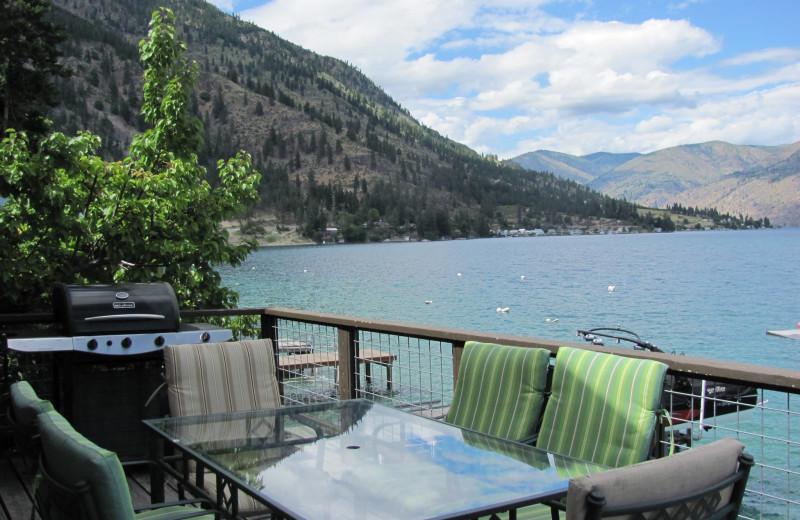 Balcony at Kelly's Resort.