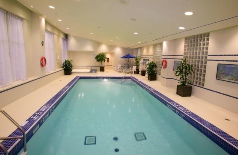 Indoor Pool at the Hilton Garden Inn Toronto/Markham