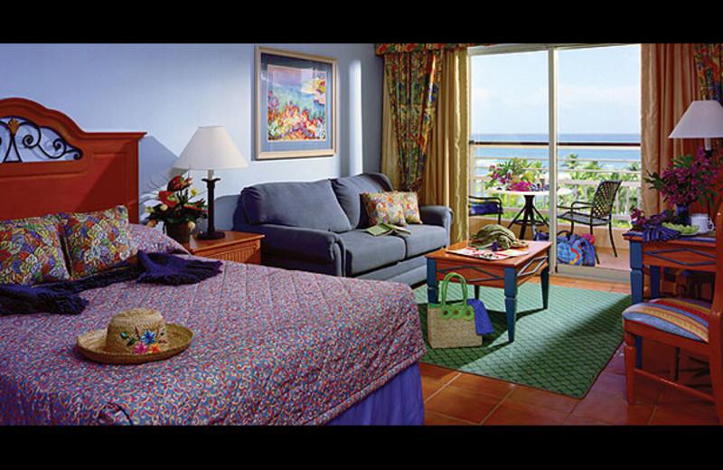 Guest room at Hyatt Hacienda del Mar, A Hyatt Vacation Club Resort.