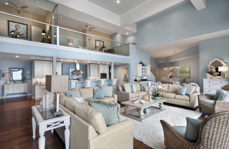 Penthouse interior at North Beach Plantation.