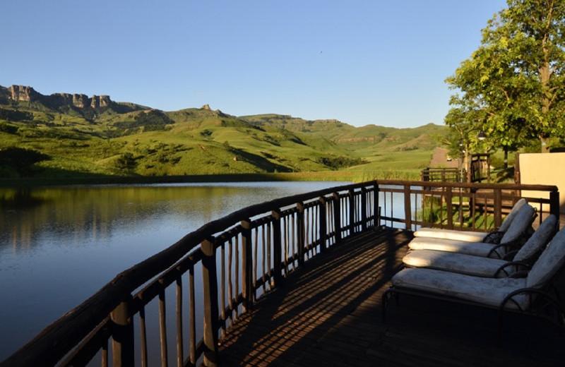 View from Alpine Heath Resort & Conference Village.
