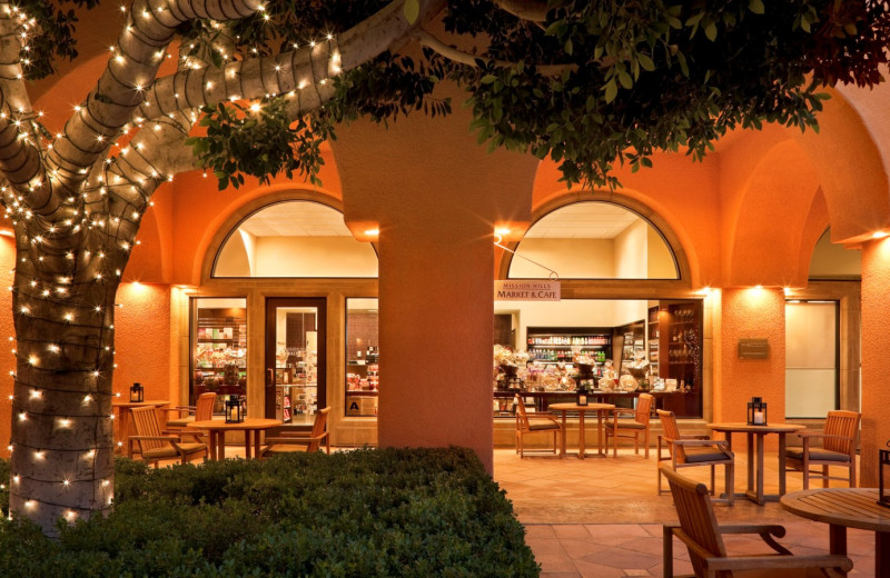 Exterior view of Mission Hills Market & Cafe at The Westin Mission Hills Resort & Spa.