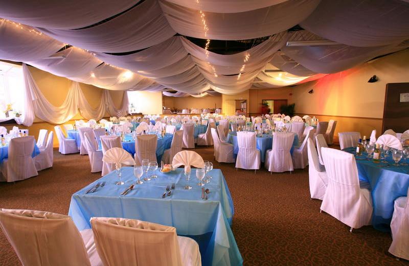 Wedding reception at Holiday Isle Oceanfront Resort.