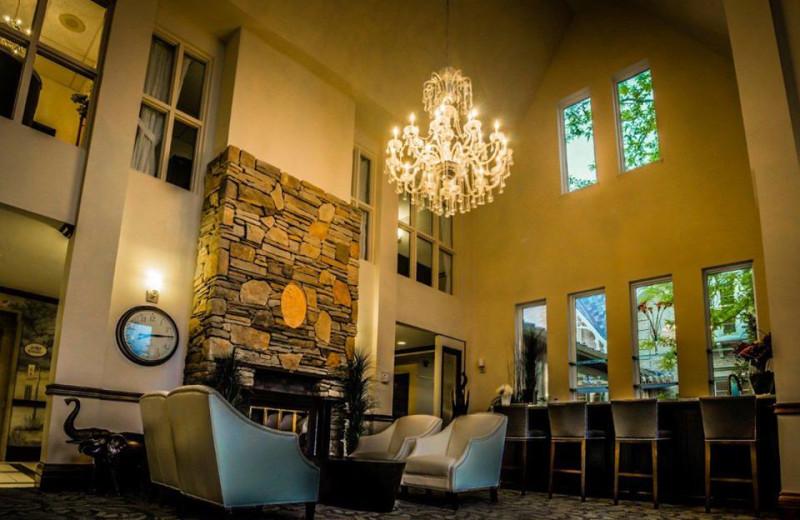 Lounge area at Elm Hurst Inn & Spa.