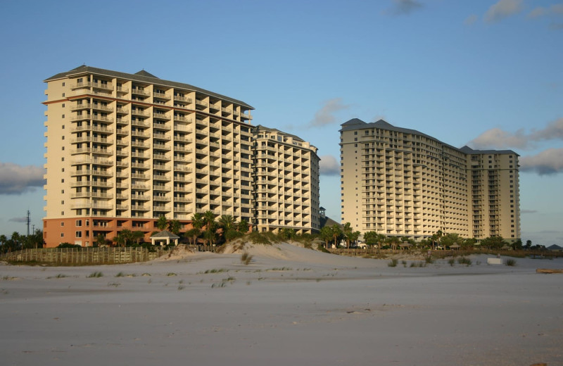 Exterior view of The Beach Club Gulf Shores.
