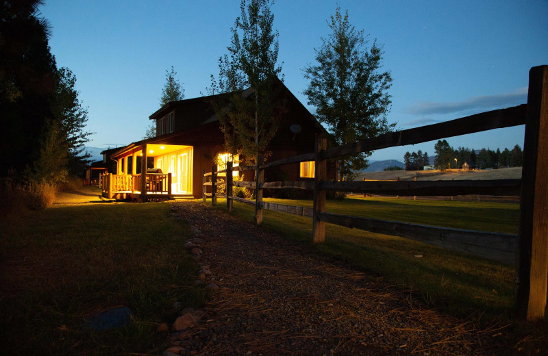 Exterior view of Gentry River Ranch.