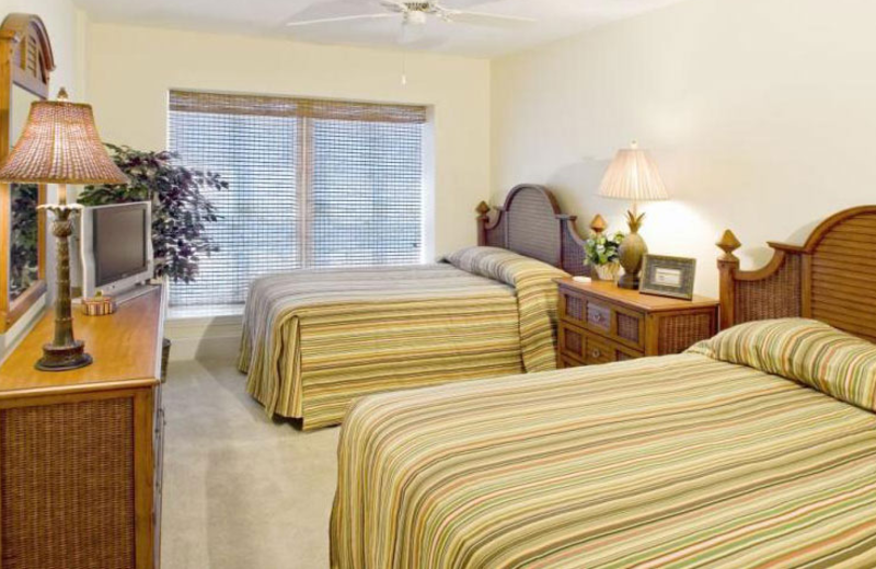 Double bedroom at Mar Vista Resort Grande.