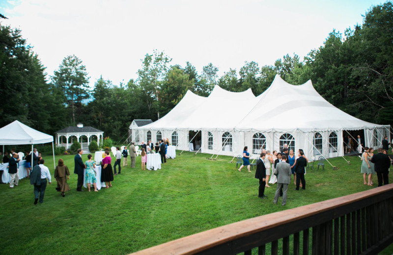 Wedding at Waterville Valley.
