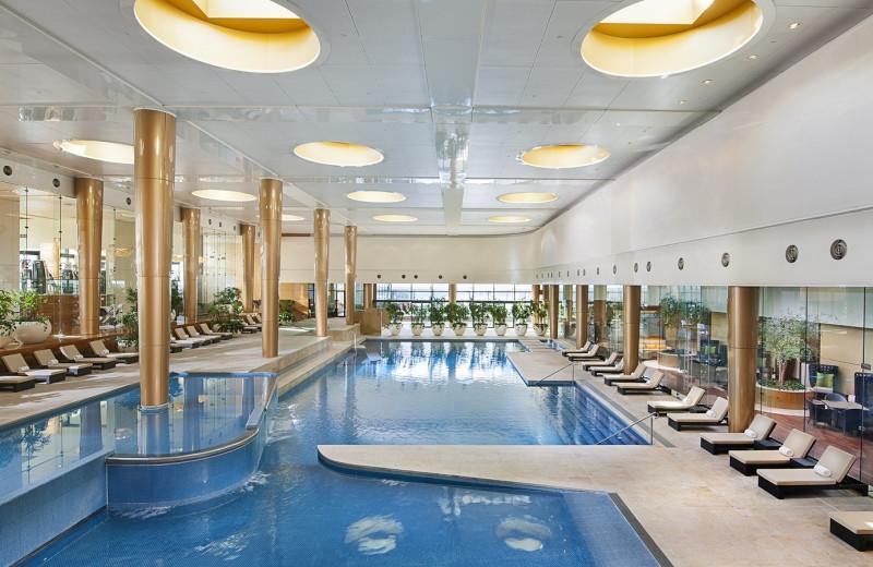 Indoor pool at Crown Towers.