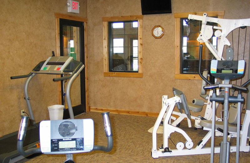 Fitness room at The Village At Indian Point.