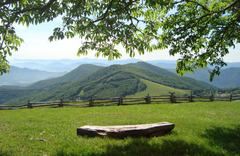 Scenic view at Cataloochee Ranch.