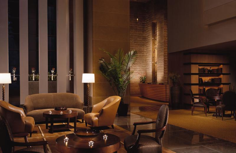 Morsel's Lobby at Omni San Diego Hotel.