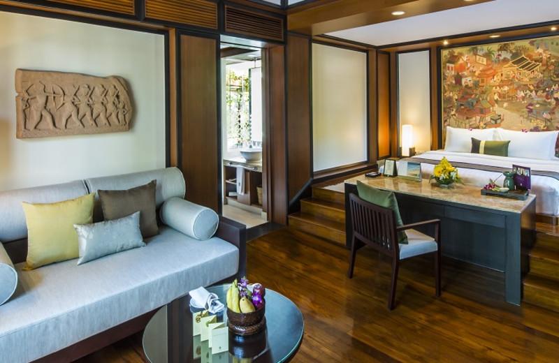 Guest room at Banyan Tree Phuket.