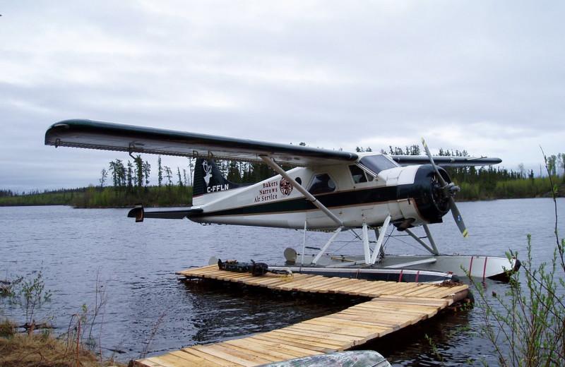Plane at Bakers Narrows Lodge.