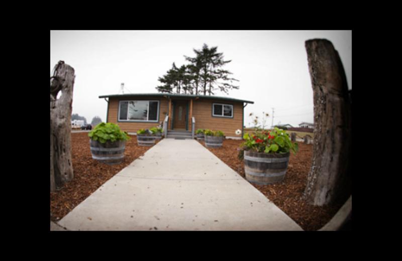 Cabin at Quileute Oceanside Resort.