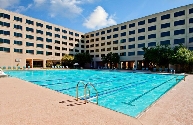 Outdoor Swimming Pool at NCED Conference Center and Hotel