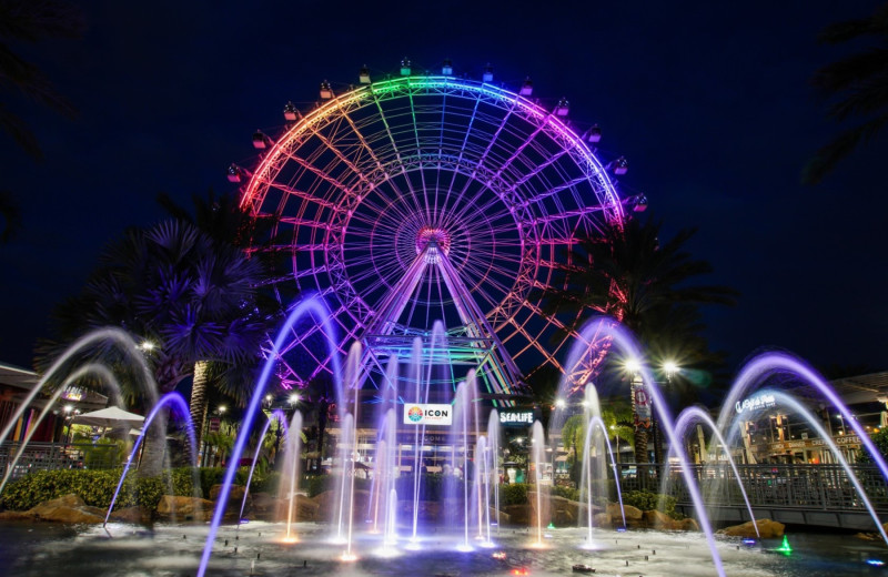Ferris wheel near Florida Vacation Homes