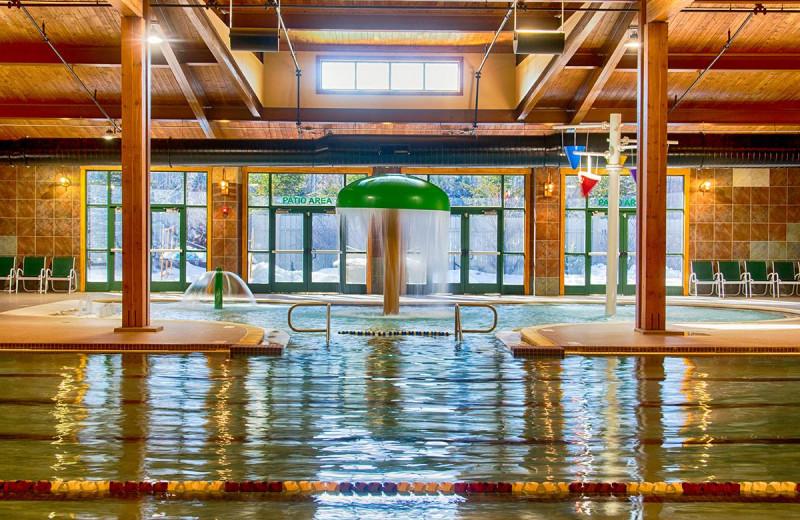 Indoor pool at Lake Naomi Club.