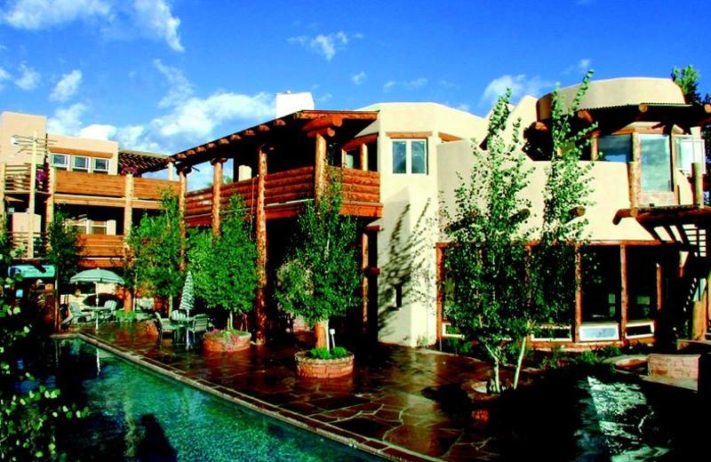 Exterior View of Chipeta Solar Springs Resort