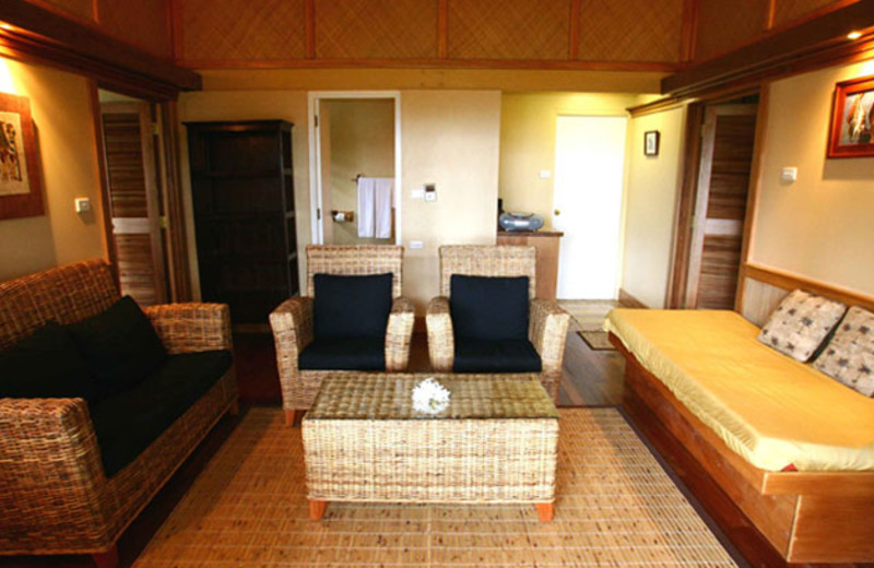 Living Room at Koro Sun Resort