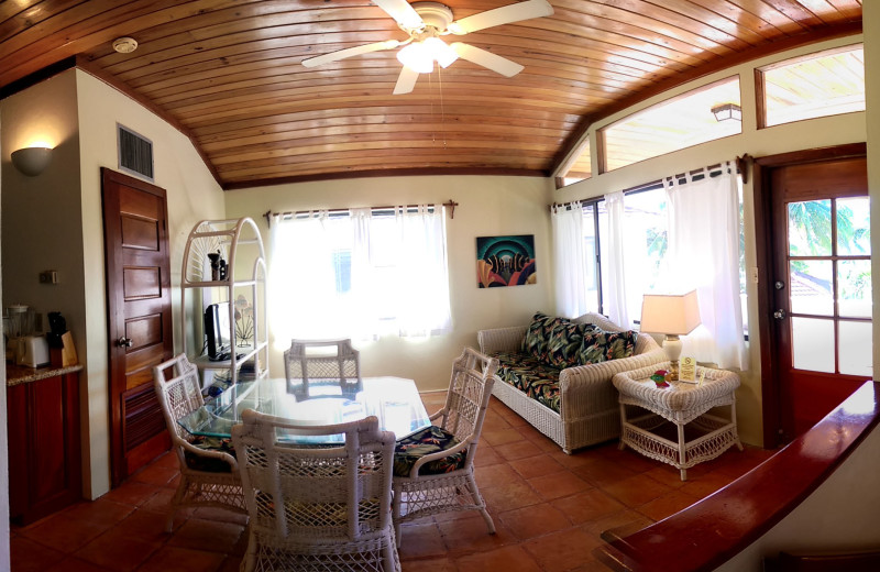 Rental interior at Tradewinds Paradise Villas.